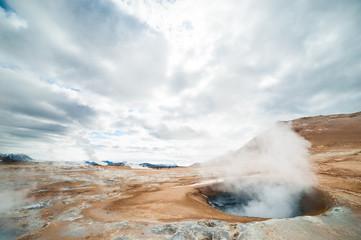 Hverir in Iceland