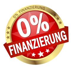 """Button mit Banner """" 0% FINANZIERUNG """""""