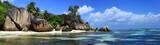 panorama sur jagon bleu des seychelles