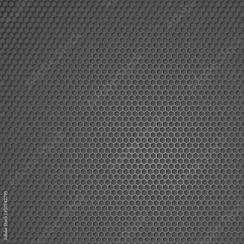 Metall Waben Hintergrund