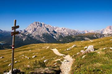 Wanderweg - Dolomiten - Alpen