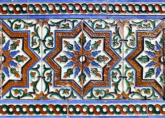 Moorish ceramic tiles