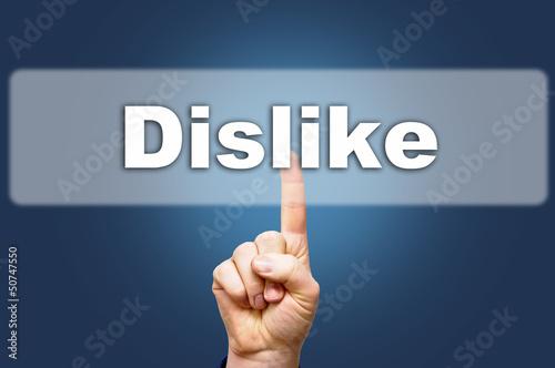 gefällt mir nicht dislike