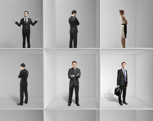 group businesspeople