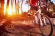 mountain bike athlete - 50752357