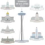 Symbols of US cities