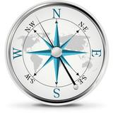 Fototapety Compass