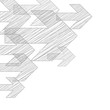 Pfeil Weiter Ecke Hintergrund Scribble Bleistift