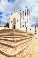 Portuguese Church Igreja Sao Martinho de Estoi landmark, Algarve