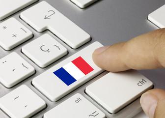 Clavier Drapeau Français