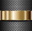 Background elegant metallic, vector