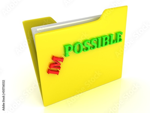 IMPOSSIBLE word becomes possible