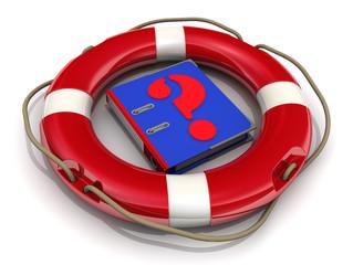 Справочник в спасательном кругу