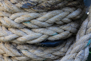 Rope twisted