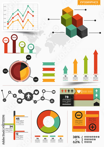 Infographic Vector Set