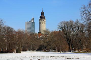 Leipzig - Blick aus dem Johannapark