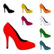 high heels I