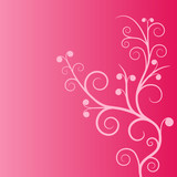 Pink planl ornament