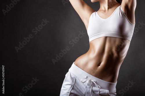 Poster, Tablou Women's sports shape