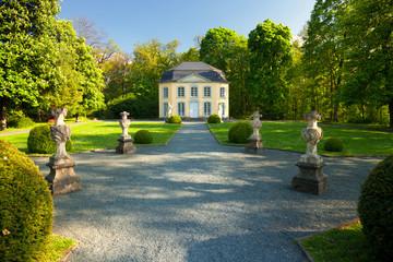 der Pavillon Sophienlust im Schlosspark Burgk