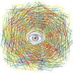 occhio psichedelico