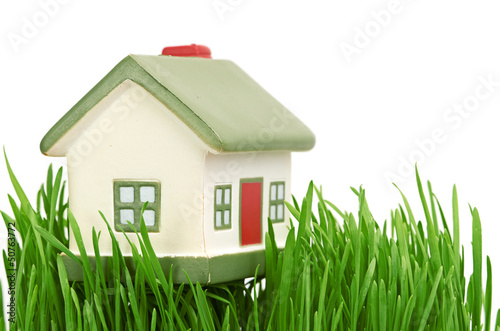 Cottage. isolated on white background