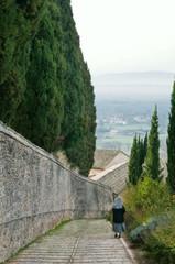 Assisi. Ora della messa a San Damiano