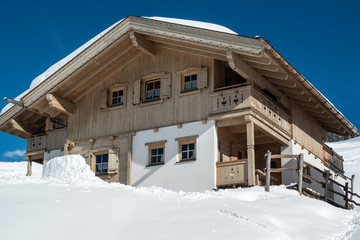 Beautiful skiing hut