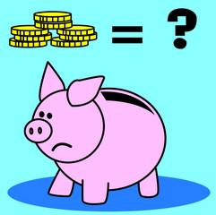 tirelire, argent, salaire, paye, monnaie, économie, or