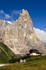 Cimone in Dolomites mountains, northern Italy