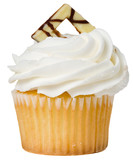 Vanilla Cupcake Isolated