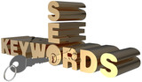 Keywords SEO search key words lock