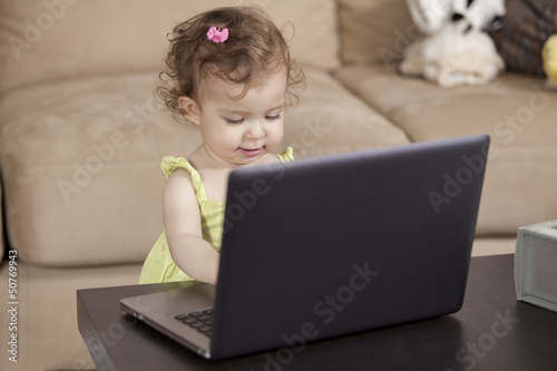 Daddy look, I can work like you do