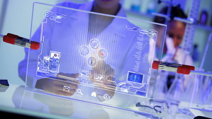 Touch Screen Future Human Physical Anatomy Research