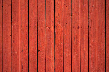 Old red wood panels