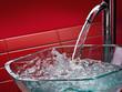 modern glass bathroom sink