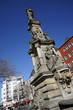 Leinwanddruck Bild - Jan van Werth-Denkmal auf dem Alter Markt