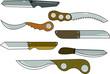 Knifes clipart