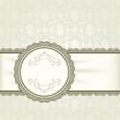 Vintage background, ornamental frame