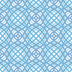 Wavy grid, abstract seamless pattern