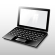 laptop black.Vector