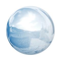 Glaskugel freigestellt