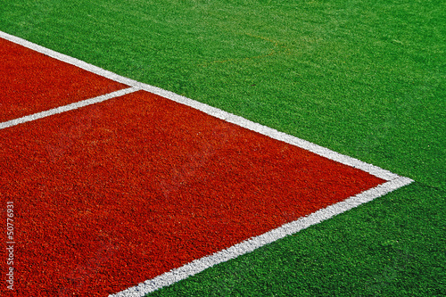 Synthetic sports field 14
