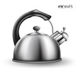 tea kettle on white