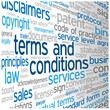 TERMS AND CONDITIONS Tag Cloud (use disclaimers contract)