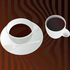 caffè e cappuccino