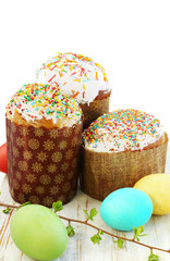 Three Easter cake