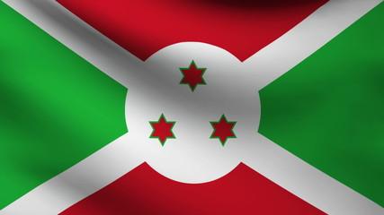Burundi flag.