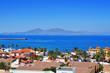 Lobos Island from Corralejo in Fuerteventura, Canary Islands, Sp