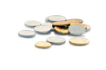 Coins.